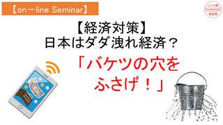 【on-lineセミナー】経済対策「バケツの穴をふさげ」.png